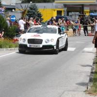 Ennstal-Classic 2013 Chopard Racecar Trophy Bentley Continental GTS Helmut Zwickl