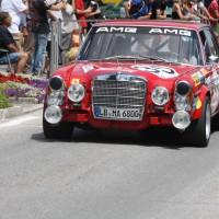 Ennstal-Classic 2013 Chopard Racecar Trophy Mercedes Benz 300 SEL AMG HF Rote Sau Wendlinger