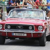 Ennstal-Classic 2013 Chopard Racecar Trophy Ford Mustang Cabriolet