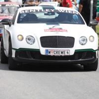 Ennstal-Classic 2013 Chopard Racecar Trophy Finale Bentley Continental GTS Helmut Zwickl