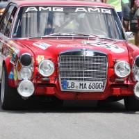 Ennstal-Classic 2013 Finale Chopard Race Car Trophy Mercedes 300 SEL AMG HF