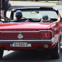 Ennstal-Classic 2013 Finale Chopard Race Car Trophy Ford Mustang Cabriolet