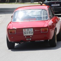 Ennstal-Classic 2013 Finale Chopard Race Car Trophy Alfa Romeo