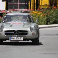 Ennstal-Classic 2013 Finale Josef Panis Mercedes-Benz 300 SL
