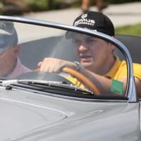 Ennstal-Classic 2013 Richard Lietz Porsche 356 Porsche Werksfahrer