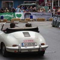 Ennstal-Classic 2013 Finale Porsche 356 Gendamerie Cabriolet