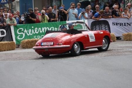 Ennstal-Classic 2014 Kooperation mit Porsche