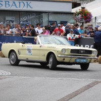 Ennstal-Classic 2013 Finale Ford Mustang Cabriolet Damen