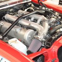 Ennstal-Classic 2013 Mercedes-Benz 300 SEL AMG HF Karl Wendlinger Rote Sau Motor