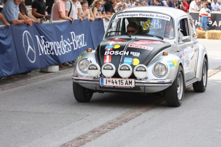 Ennstal-Classic 2013 VW Käfer 1303 S Porsche Salzburgkäfer Salzburg Rallyekäfer Gerald Schön Susanna Schön