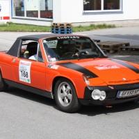 Ennstal-Classic 2013 Finale Porsche 914/6 Pius Weckerle