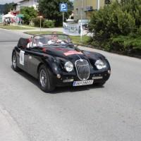 Ennstal-Classic 2013 Finale Jaguar XK 150