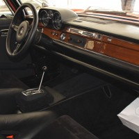 Ennstal-Classic 2013 Mercedes-Benz 300 SEL AMG HF Innenraum Rote Sau