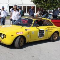 Ennstal-Classic 2013 Alfa Romeo GTAM Vernon Mackenzie Kirsty Roberts