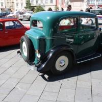 Oldtimerfahrt Kobersdorf Schloss Spiele Kobersdorf Böck Fiat Balilla