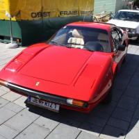 Oldtimerfahrt Kobersdorf Schloss Spiele 2013 Böck Ferrari