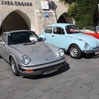 Oldtimerfahrt Kobersdorf Schloss Spiele Wolfgang Böck 2013 Porsche VW Käfer