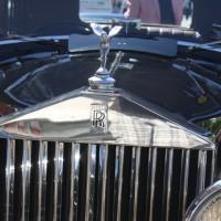 Oldtimerfahrt Schloss Spiele Kobersdorf 2013 Rolls Royce 20/25 HP Sport Saloon