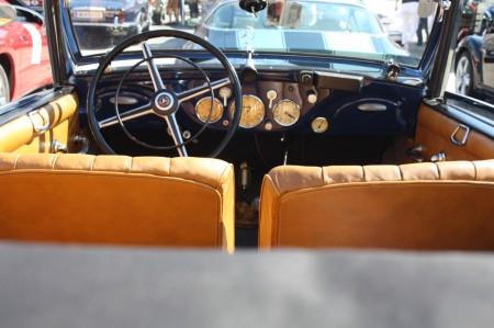 Oldtimerfahrt Schloss Spiele Kobersdorf 2013 Mercedes Benz Cabriolet