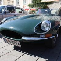 Oldtimerfahrt Schloss Spiele Kobersdorf 2013 Jaguar E-Type