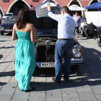 Oldtimerfahrt Schloss Spiele Kobersdorf 2013 Mercedes-Benz
