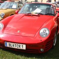 Oldtimertreffen Pinkafeld 2013 Porsche Turbo