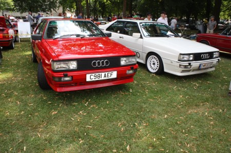 Oldtimertreffen Pinkafeld 2013 Audi Ur Quattro