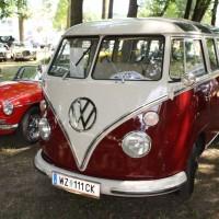 Oldtimertreffen Pinkafeld 2013 VW Bus T1 Samba