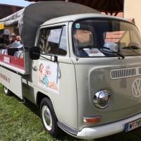 Oldtimertreffen Pinkafeld 2013 VW Bus T2a Pritsche