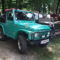 Oldtimertreffen Pinkafeld 2013 Suzuki Willys Jeep