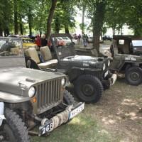 Oldtimertreffen Pinkafeld 2013 US Jeep Militär