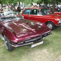 Oldtimertreffen Pinkafeld 2013 Corvette Stingray Cabriolet