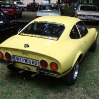 Oldtimertreffen Pinkafeld 2013 Opel GT