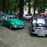 Oldtimertreffen Pinkafeld 2013 Mini VW Käfer