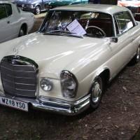 Oldtimertreffen Pinkafeld 2013 Mercedes-Benz Coupe