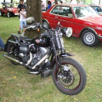Oldtimertreffen Pinkafeld 2013 Harley Davidson Motorrad