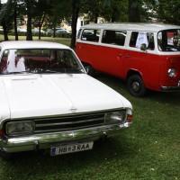 Oldtimertreffen Pinkafeld 2013 Opel VW Bus T2
