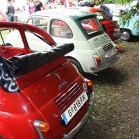 Oldtimertreffen Pinkafeld 2013 Steyr Puch Fiat 500
