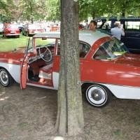 Oldtimertreffen Pinkafeld 2013 Opel Rekord Baum