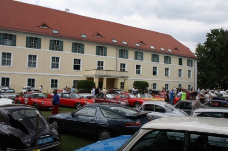 Oldtimertreffen Pinkafeld 2013 Schloss Batthyany Burgenland