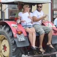 Oldtimertreffen Pinkafeld 2013 Traktor Mitfahrt