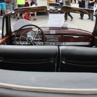 Oldtimertreffen Pinkafeld 2013 Mercedes-Benz Cabriolet Innenraum
