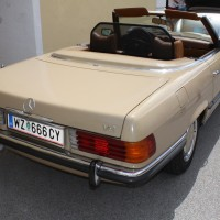 Oldtimertreffen Pinkafeld 2013 Mercedes-Benz Cabriolet V8
