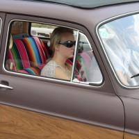 Oldtimertreffen Pinkafeld 2013 VW Typ 3 Kombi Frau