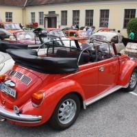 Oldtimertreffen Pinkafeld 2013 VW Käfer Cabriolet original