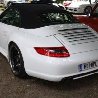 Oldtimertreffen Pinkafeld 2013 Porsche 911 Cabrio