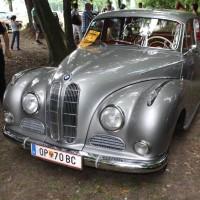 Oldtimertreffen Pinkafeld 2013 BMW V8 Barockengel