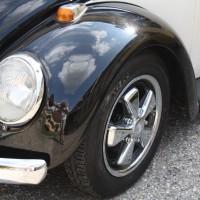 Oldtimertreffen Pinkafeld VW Käfer Kotflügel Porsche Fuchs Felgen