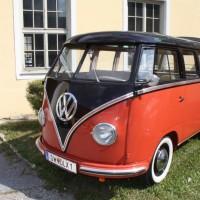 Oldtimertreffen Pinkafeld 2013 VW Samba Bus T1
