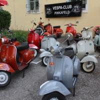 Oldtimertreffen Pinkafeld 2013 Motorroller Vespa